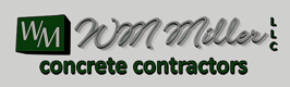 WM Miller Concrete Contractors Logo